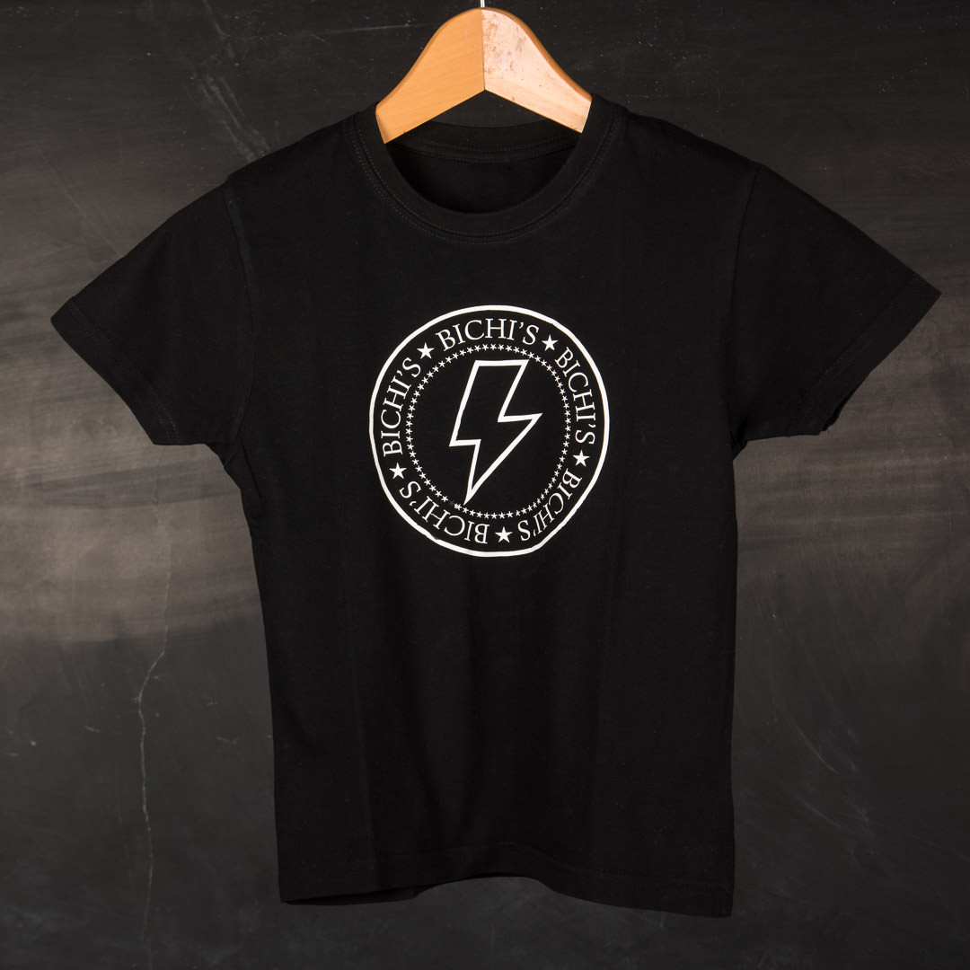 T-shirt Black Gleam